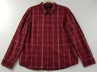 Tommy Hilfiger Women's Long Sleeve Button Up Shirt 2XL Multicolor Plaid Casual