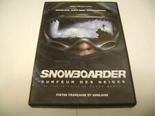 Snowboarder - Surfeur des Neiges (DVD, 2003, Canadian) Olias Barco, J-P Ecoffey