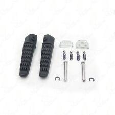 For  Kawasaki Ninja ZX6R ZX-6R 03-11 Black Rear Foot Pegs Footrest
