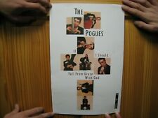 The Pogues Poster If I Should Ever Fall From Grace With God