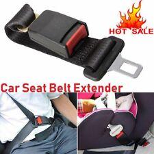Car Seat Belt Extender Extension Safety Buckle Clip Universal Adjutable Cars UK