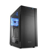 Sharkoon S25-w Midi-tower negro carcasa de ordenador