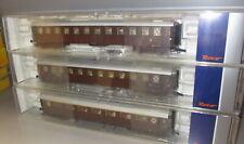 Roco H0 74380 74383 74382 FS Reisezugwagen Personenwagen 3 Stück, Ep: III _ TOP