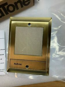 Nutone IS-70AB Intercom Door Speaker IS-70 IS-65 Antique Brass (no push-button)