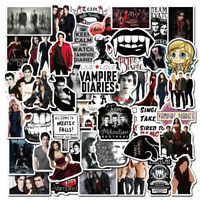 50Pcs American TV Series The Vampire Diaries Stickers For DIY Toy Luggage Laptop