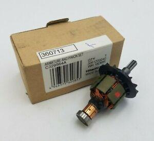 Hitachi Koki 360713 Armature W Pinion Set WH18DMR WH18DL Impact Driver Parts NOS