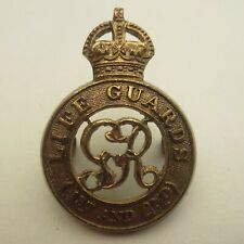 The 1st & 2nd Life Guards GRV WW1 George 5th British Army/Military Hat/Cap Badge