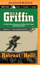W E B Griffin RETREAT HELL Unabridged MP3-CD 18 Hours *NEW* FAST 1st Class Ship!