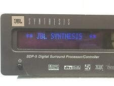 JBL Synthesis SDP-5 Digital Surround Processor Tested As Pictured ONLY