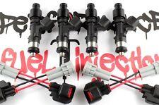 4 - 650cc DIRECT FIT Fuel injectors 89-05 Mazda Miata MX-5 1.6L 1.8L Turbo B6ZE