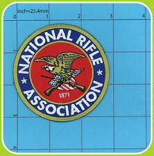 National Rifle Association of America NRA patch Firearm GUN Second Amendment