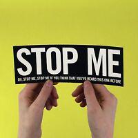 "The Smiths lyric Sticker! ""Stop me"" Morrissey, strangeways, stone roses marr"