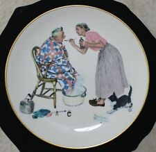 Norman Rockwell 1978 Four Seasons Collector's Plate Spring
