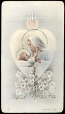 "santino-holy card""""ediz. NB  n.115 MATER PURISSIMA"