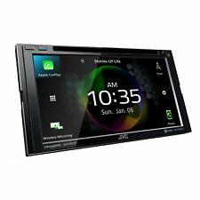 "JVC KW-V950BW 6.8"" CD DVD Car Monitor Bluetooth Receiver"