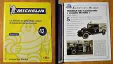 Fascicule Michelin, collection officielle, Altaya, n°42, Renault KZ7, 16 pages