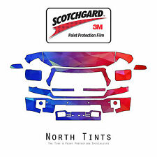 GMC Sierra 2014-2015 1500 PreCut 3M Scotchgard Paint Protection Clear Bra Kit