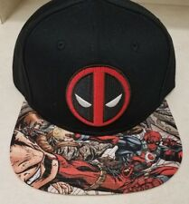 Original Snapback Marvel DEADPOOL Cap One size fits all adjustable