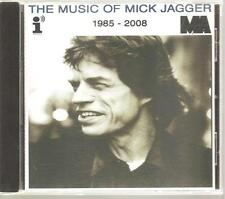 "ROLLING STONES Mick Jagger ""The Music Of Mick Jagger 1985-2008"" Acetate Promo CD"