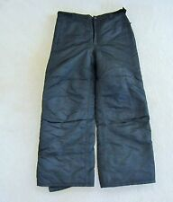 Girls size large 14/16 winter ski snowboard pants black insulated cherokee snow