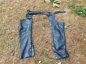 Vintage Genuine Leather Chaps