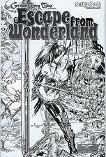 Escape From Wonderland Script Book # 0 & 1 EBAS Wrap Around Cover !!!   NM