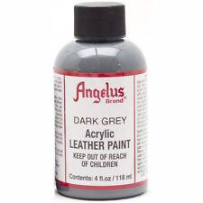 Angelus Leather Paint 4 Oz Dark Grey