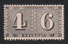 Switzerland 1943 MNH Mi 416 Sc 283 Centenary of postage stamps of Switzerland