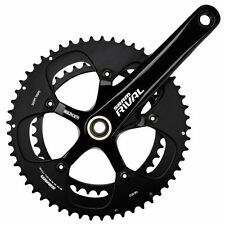 Time Trial/Triathlon GXP Bicycle Cranksets with Chainrings