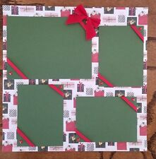 Presents Pre Made Scrapbook Pages