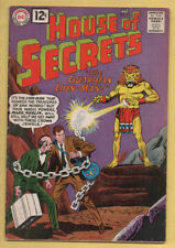 House of Secrets #52 January-February 1962, DC, 1956 Series VG