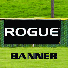ROGUE Parking Only Cave Business Advertising Vinyl Garage Banner Sign