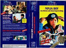 """VHS - """" Disney -- Ninja BOY + Ein toller Haufen """" - 2 Filme auf einer Kassette"""