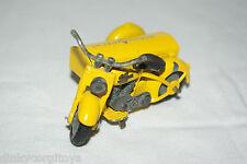 TEKNO DENMARK 764 HARLEY DAVIDSON MOTOR CYCLE WITH SIDECAR NM RARE SELTEN RARO