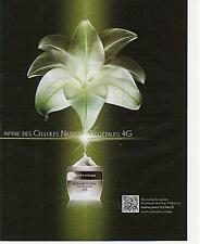 ▬► PUBLICITE ADVERTISING AD Yves Rocher anti âge crème 2 pages 2012
