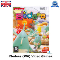 Eledees For Nintendo Wii Original Shooting UK Release Video Game Case New Brand
