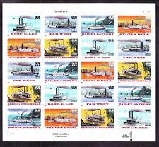 US 3091-95 32c Riverboats Mint Sheet NH
