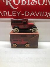 Harley Davidson Die Cast 1931 Ford A Panel Delivery Coin Bank Limited Edition
