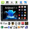 "Quad Core Android 7.1 3G WIFI de 7"" Doble 2DIN Car Radio estéreo MP5 GPS Player"