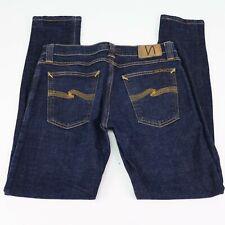 Nudie Jeans Co. Men's Organic Denim Tight Long John Jeans Tag 29x32 Actual 29x29
