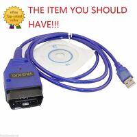 OBD2 USB VAG-COM KKL 409.1 Cable Scanner Tool Audi VW SEAT Volkswagen Auto