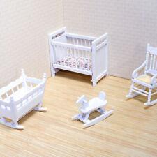 Melissa And Doug Doll House Furniture Nursery Set
