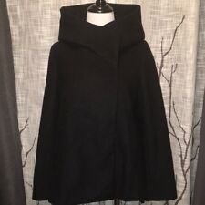 NWOT Zara BLACK Basic wool coat M