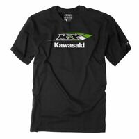Factory Effex Licensed Kawasaki KX T-Shirt Black Mens All Sizes