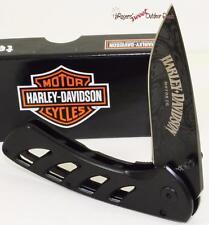 Case XX Harley-Davidson Motor Cycle Tec X Exo-Loc Biker Folding Pocket Knife