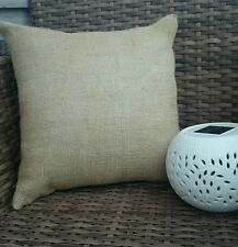 Plain hessian cushion cover jute burlap