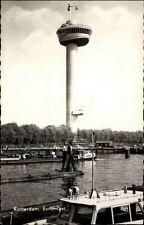 Rotterdam Niederlande AK 1961 Partie Euromast Turm Fluß Schiffe Boote Gewässer