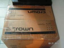 crown macro tech 3600vz power amp