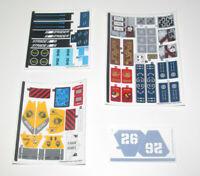 Lego ® Planche Stickers Autocollants Ninjago Le Film Choose Model NEW