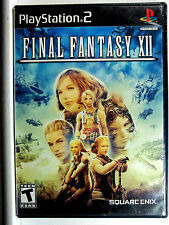 Final Fantasy 12 (PS2) Complete - Clean,Tested & Fast Shipping